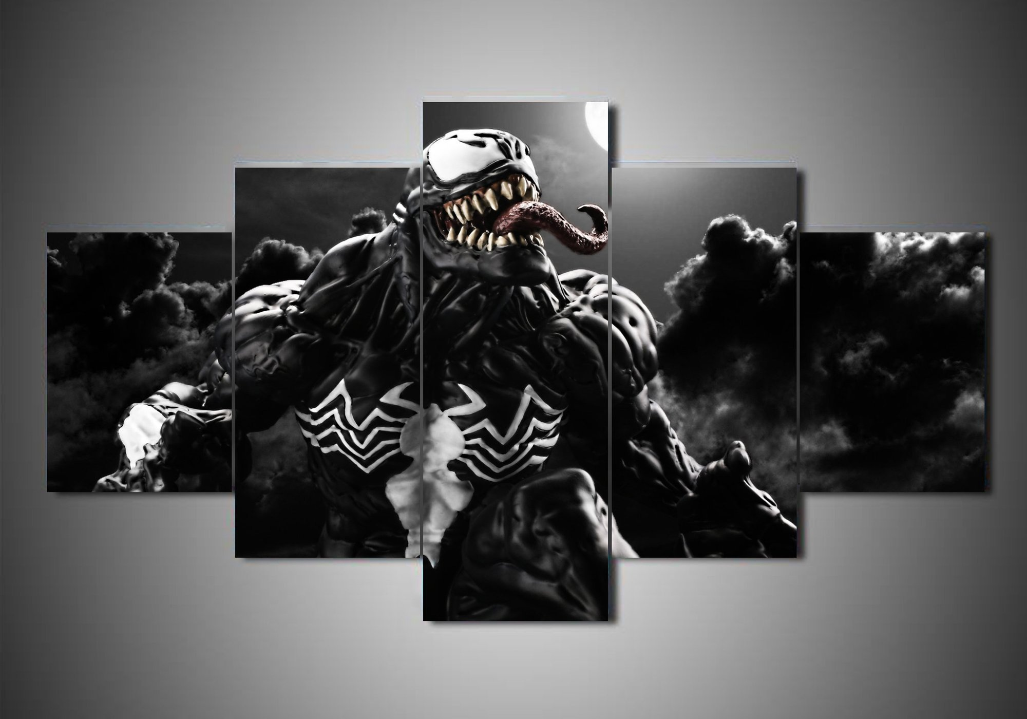 Venom 2 movie 5 panel canvas art wall decor