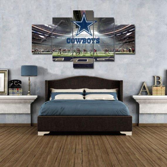 Sport 5 Panel Canvas Art Wall Decor
