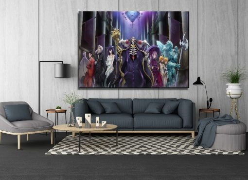 23155-NF Overlord Characters Anime 1 Piece - 1 Panel Canvas Art Wall Decor