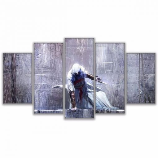 23596-NF Assassin's Creed 1 Movie - 5 Panel Canvas Art Wall Decor
